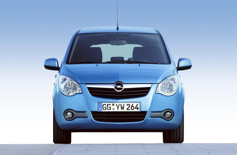Характеристики автомобиля хэтчбек 5 дв. Opel Agila 2007 - 2015г выпуска модификации 1.2 AT (86 л.с.