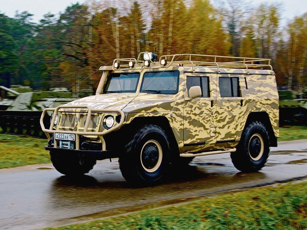 внедорожник ГАЗ 2330 «Тигр»