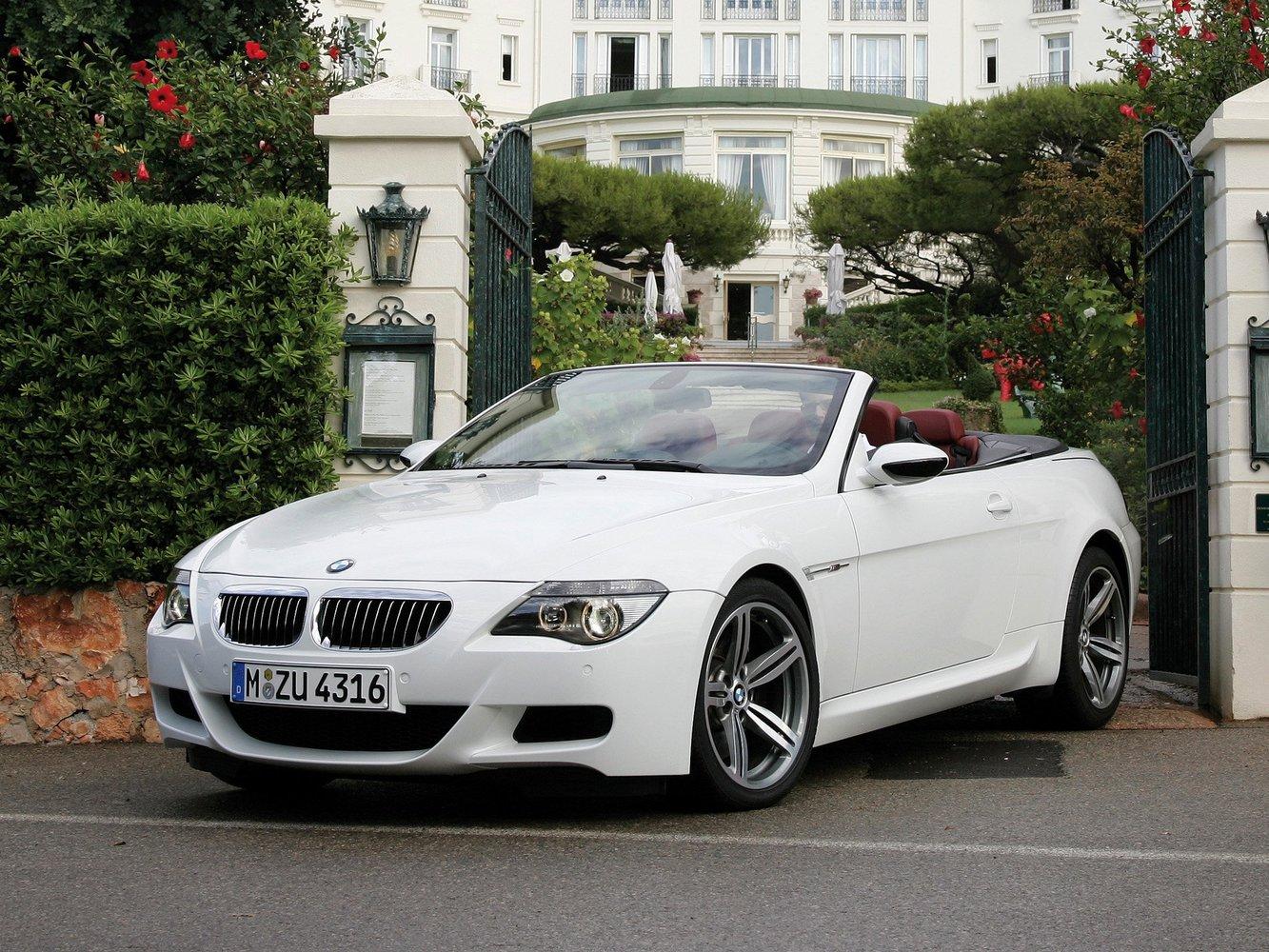 кабриолет BMW M6