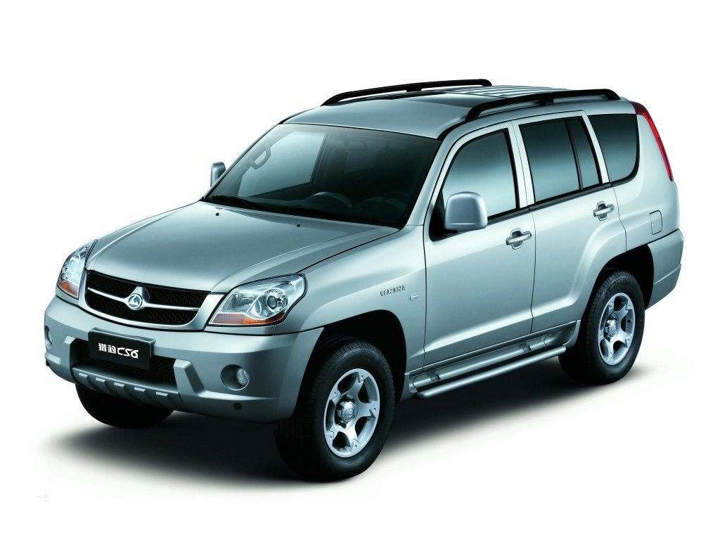 внедорожник ChangFeng SUV (CS6) 2007 - 2009г выпуска модификация 2.2 MT (103 л.с.) 4×4