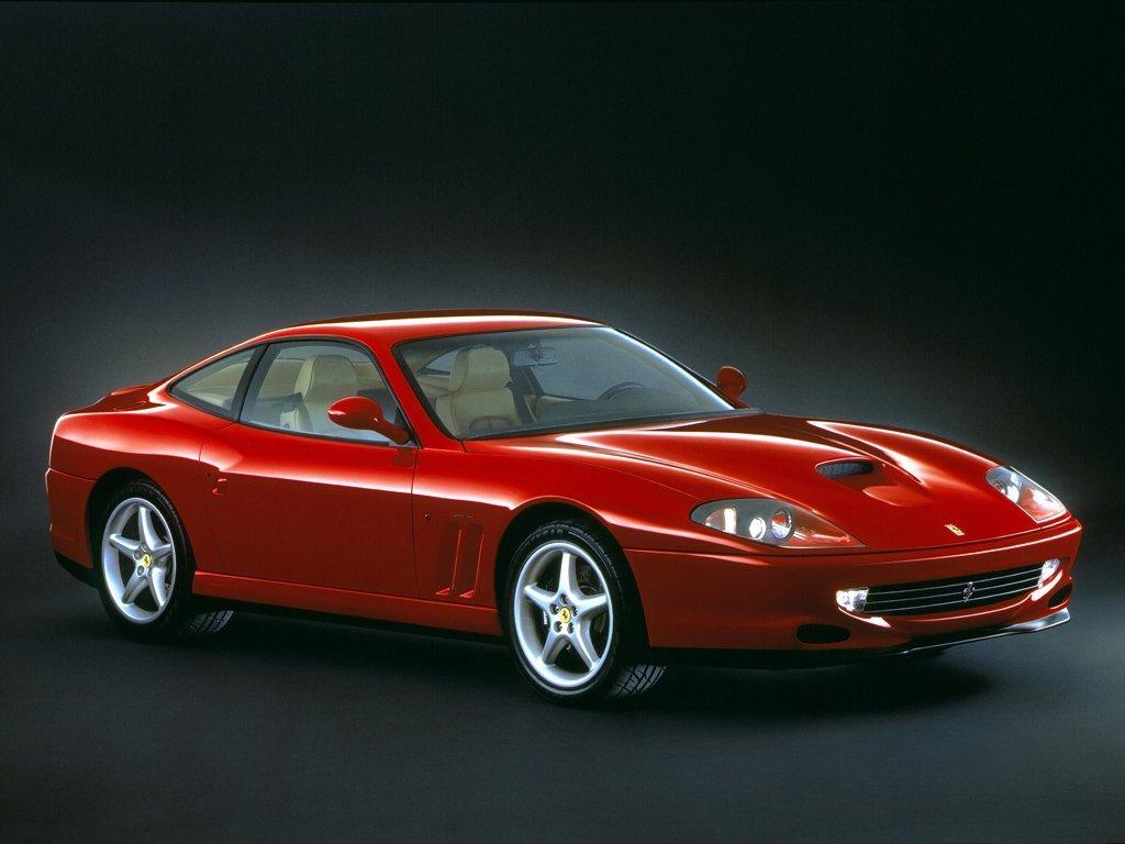 купе Maranello Ferrari 550