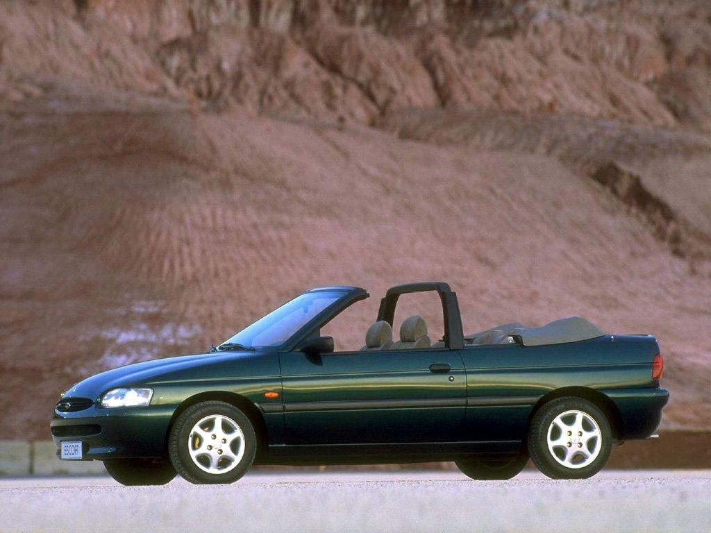 ford escort v рестайлинг #8