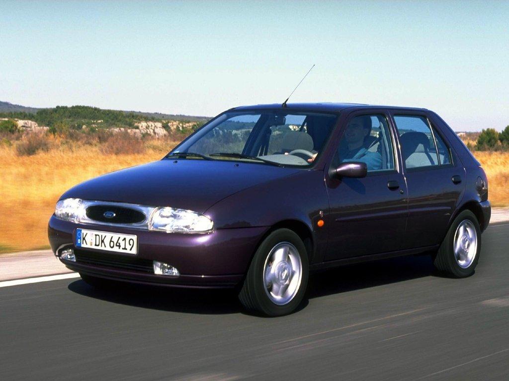 хэтчбек 5 дв. Ford Fiesta