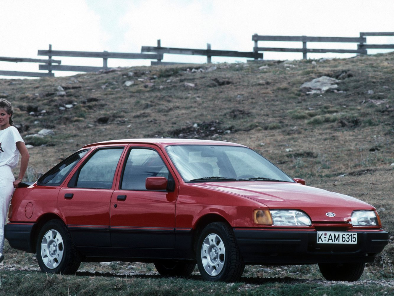 хэтчбек 5 дв. Ford Sierra
