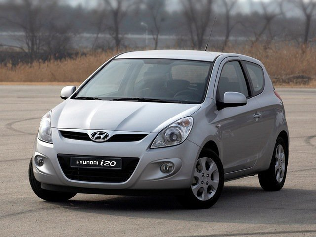 хэтчбек 3 дв. Hyundai i20