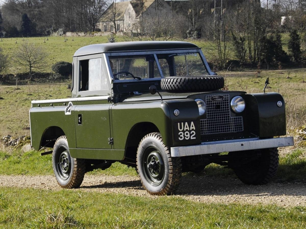 пикап Land Rover Series II