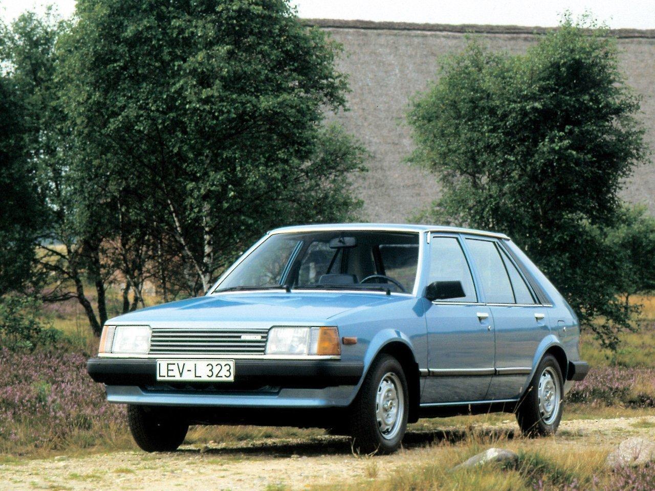 хэтчбек 5 дв. Mazda 323