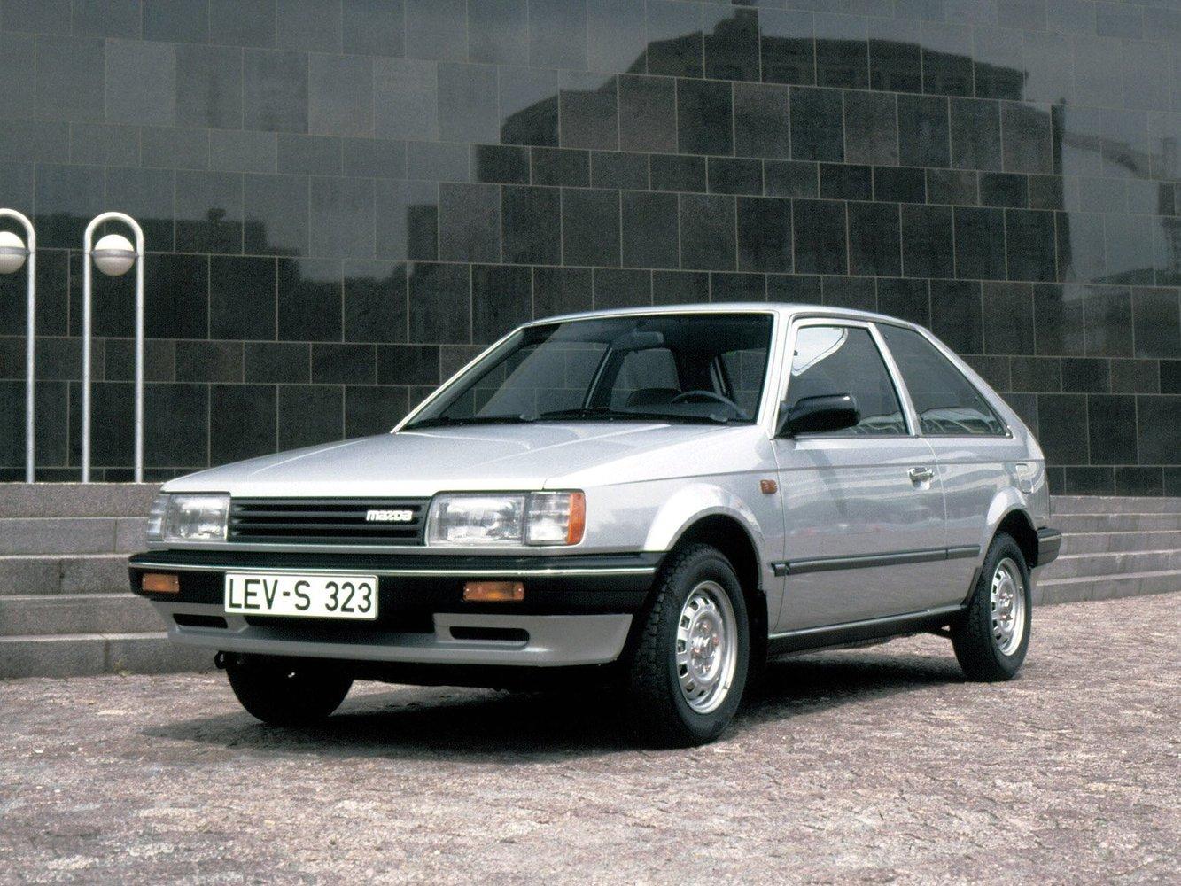 хэтчбек 3 дв. Mazda 323