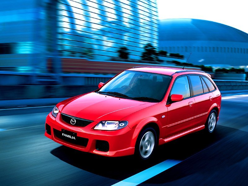 универсал S-WAGON Mazda Familia