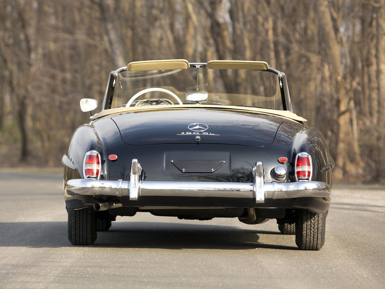 купе Mercedes-Benz 190 SL 1955 - 1963г выпуска модификация 1.9 MT (105 л.с.)
