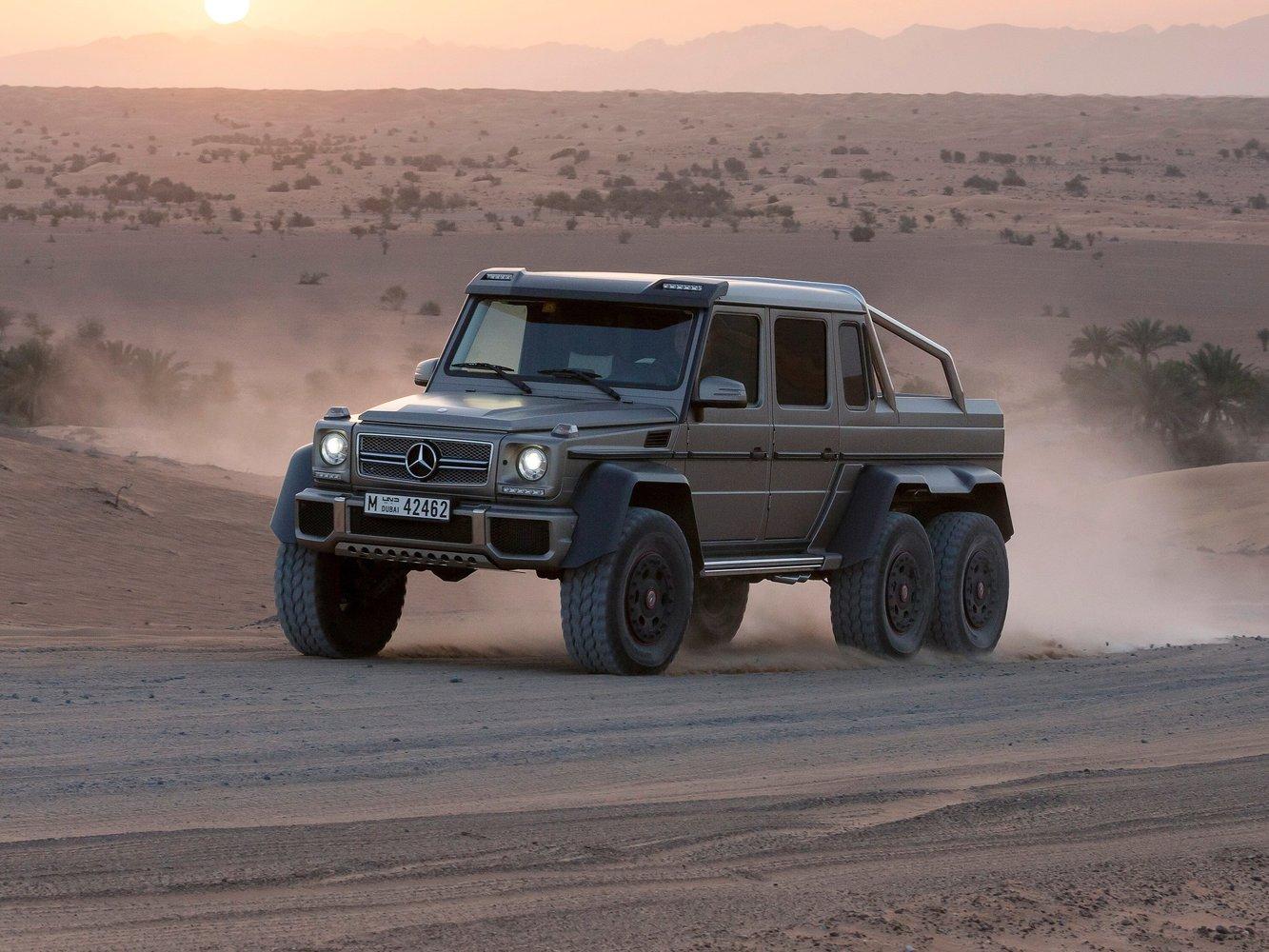 mercedes Mercedes-Benz G-klasse AMG 6x6