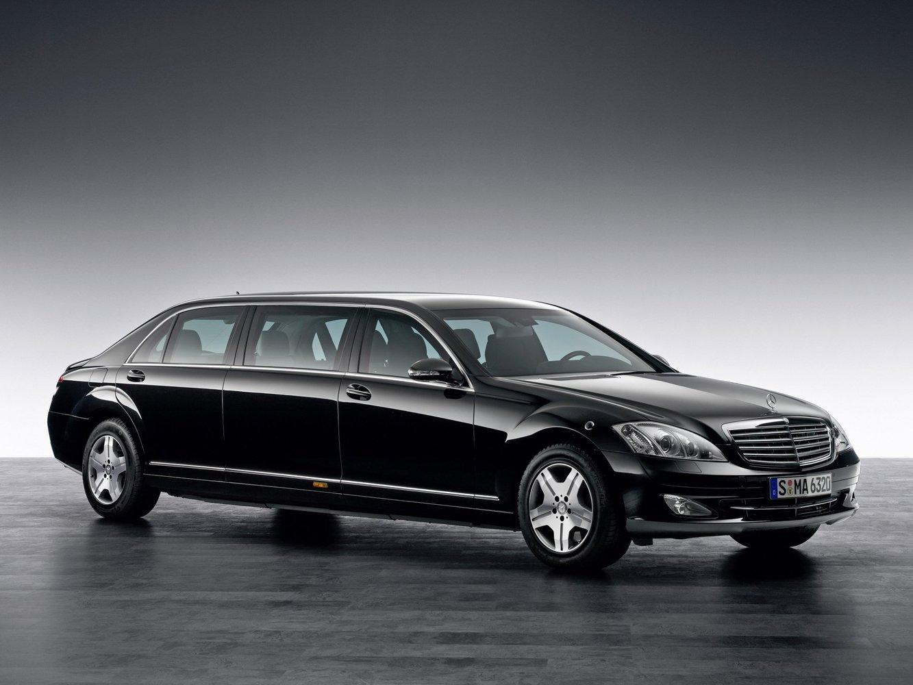 седан Pullman Mercedes-Benz S-klasse