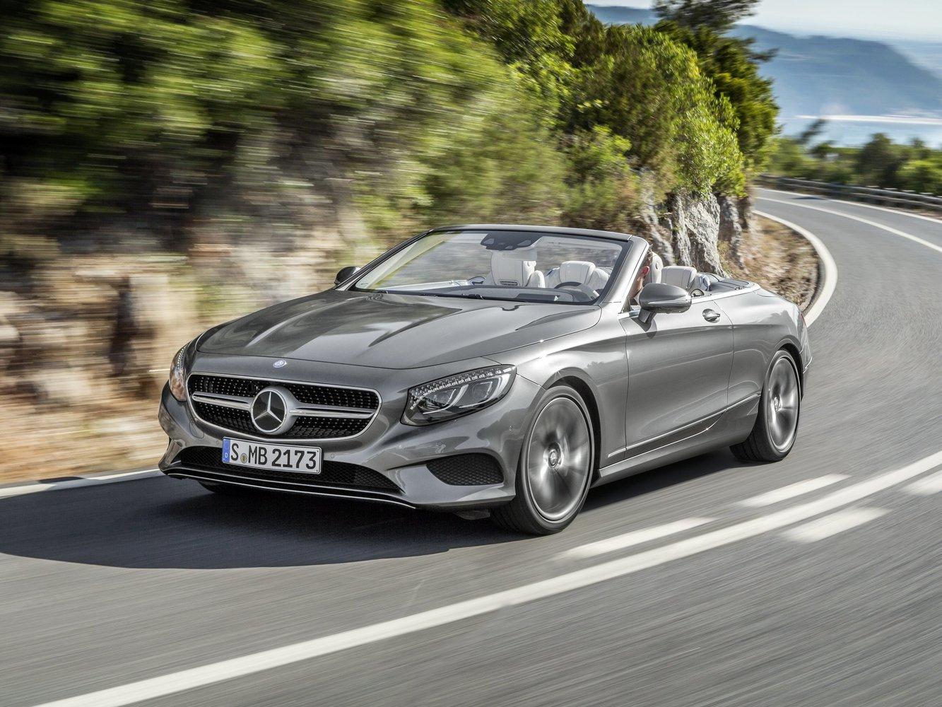 кабриолет Mercedes-Benz S-klasse