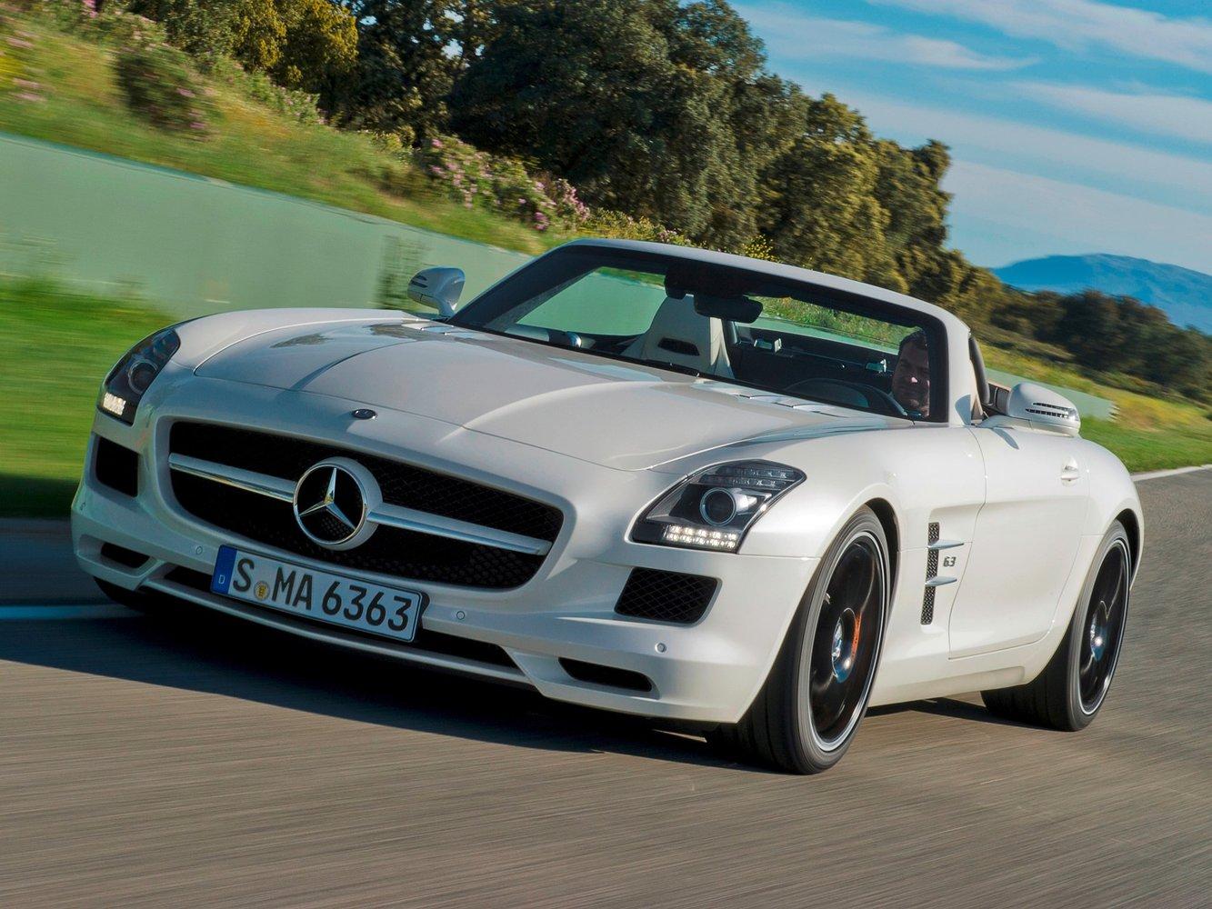 mercedes Mercedes-Benz SLS AMG