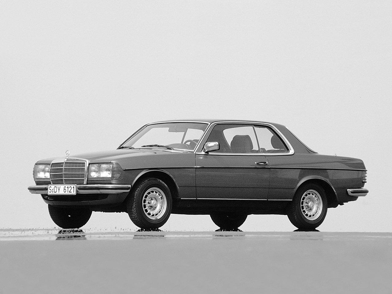купе Mercedes-Benz W123