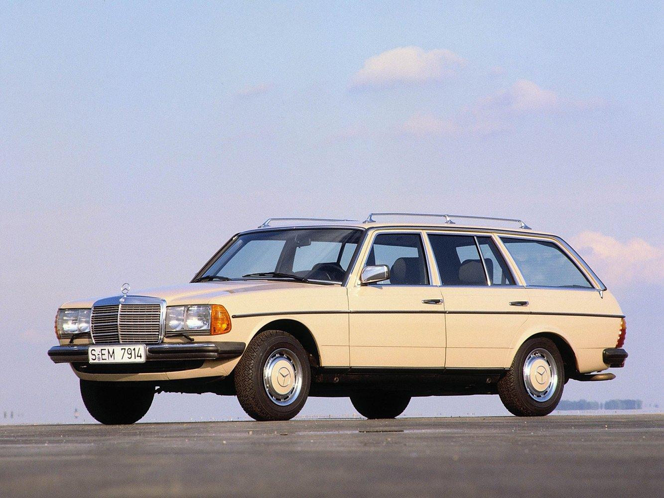 универсал Mercedes-Benz W123