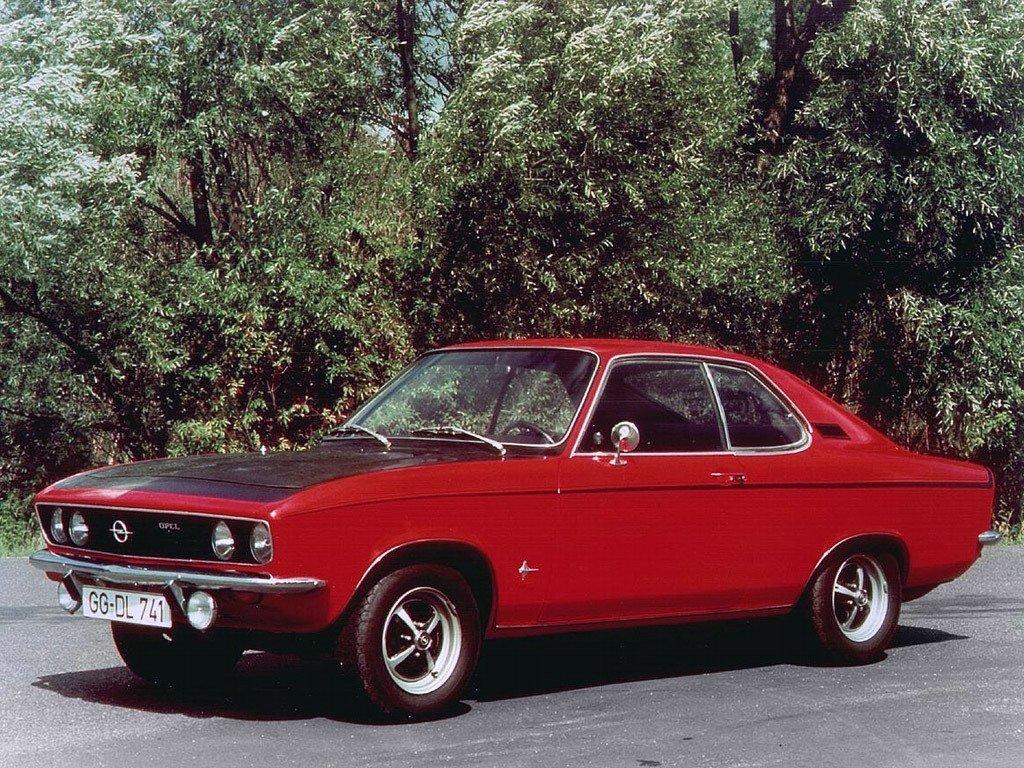 купе Opel Manta