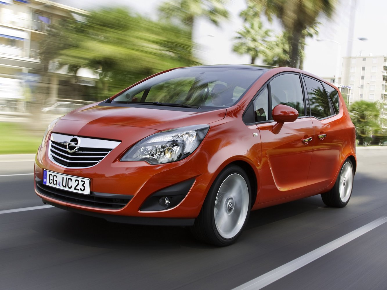 минивэн Opel Meriva