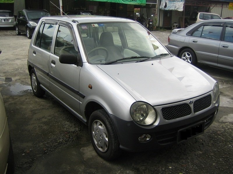 хэтчбек 5 дв. Perodua Kancil