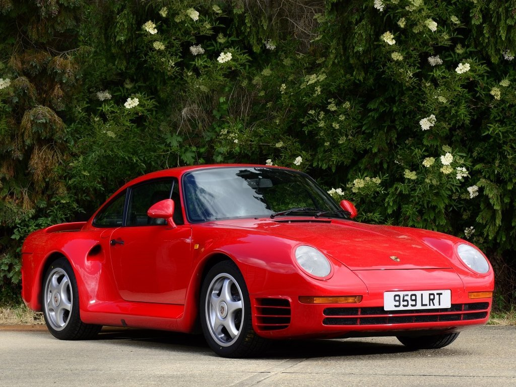 купе Porsche 959