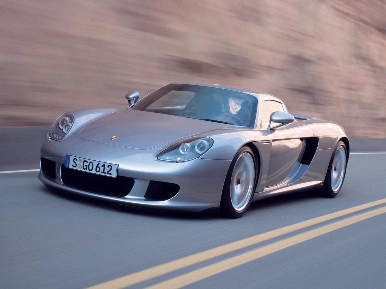 кабриолет Porsche Carrera GT