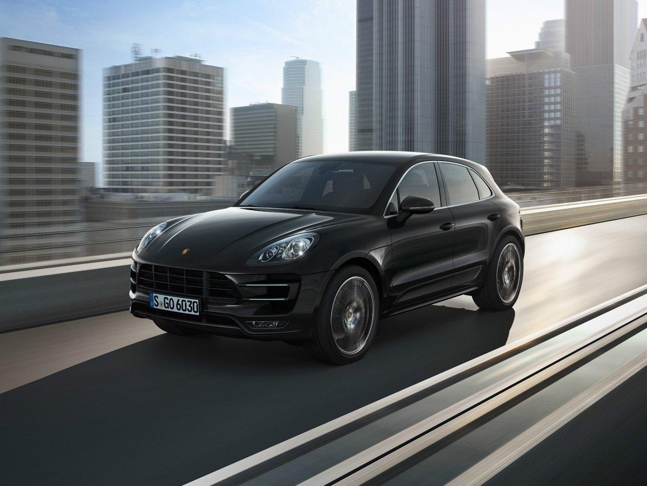 кроссовер Porsche Macan
