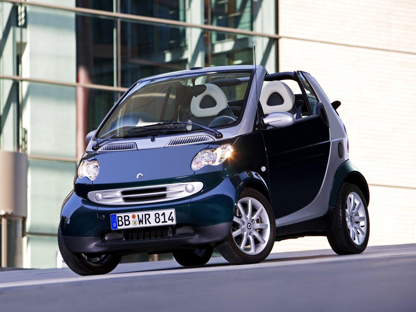 кабриолет Smart Fortwo