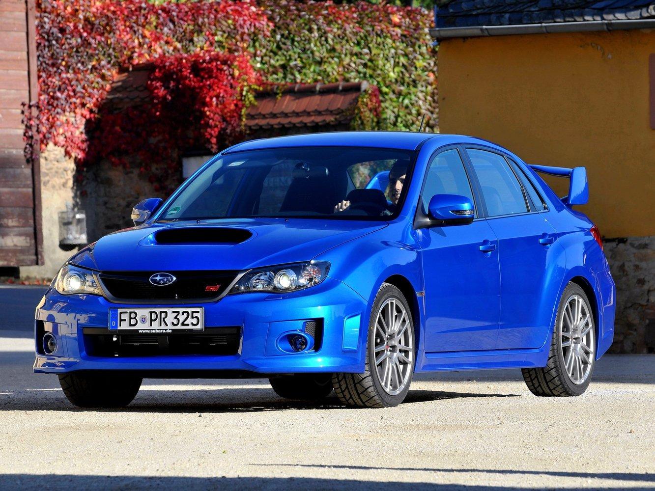 subaru Subaru Impreza WRX STi