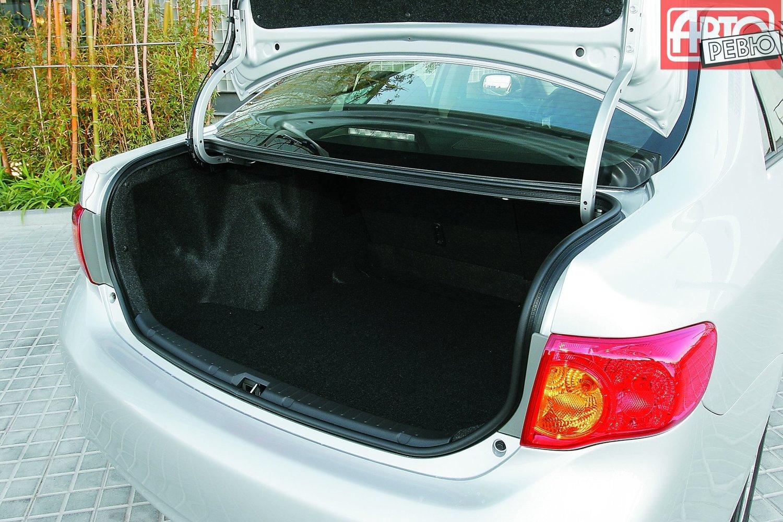 Toyota Auris 1 (2006-2012) технические характеристики ...