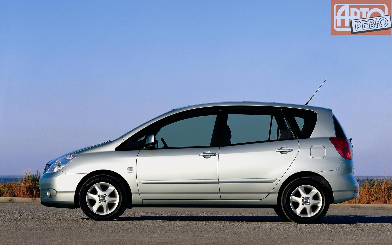 Toyota Carolla Verso отзывы #10