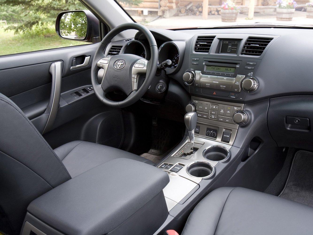 Toyota Highlander рестайлинг 2010, 2011, 2012, 2013, suv ...