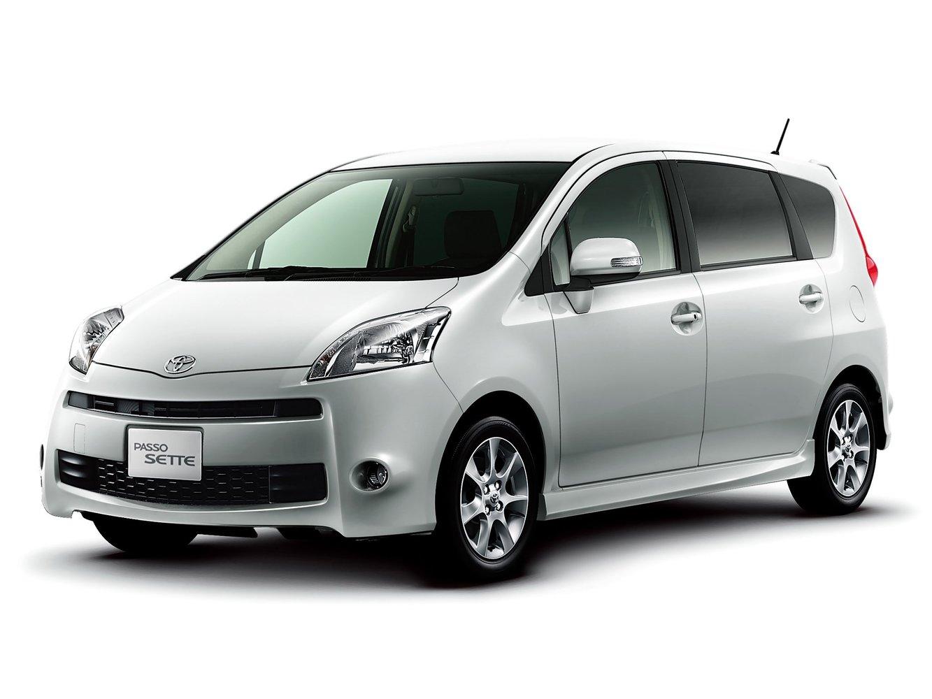 минивэн Toyota Passo Sette