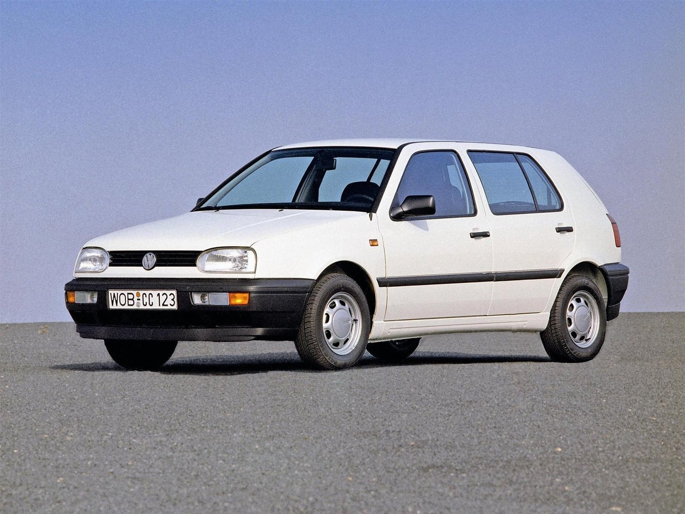 хэтчбек 5 дв. Volkswagen Golf 1991 - 1997г выпуска модификация 1.4 MT (55 л.с.)